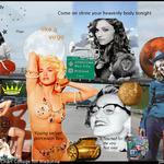 astrology art chart Madonna