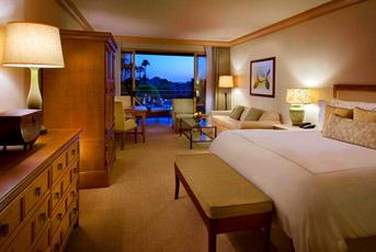 wedding night hotel room
